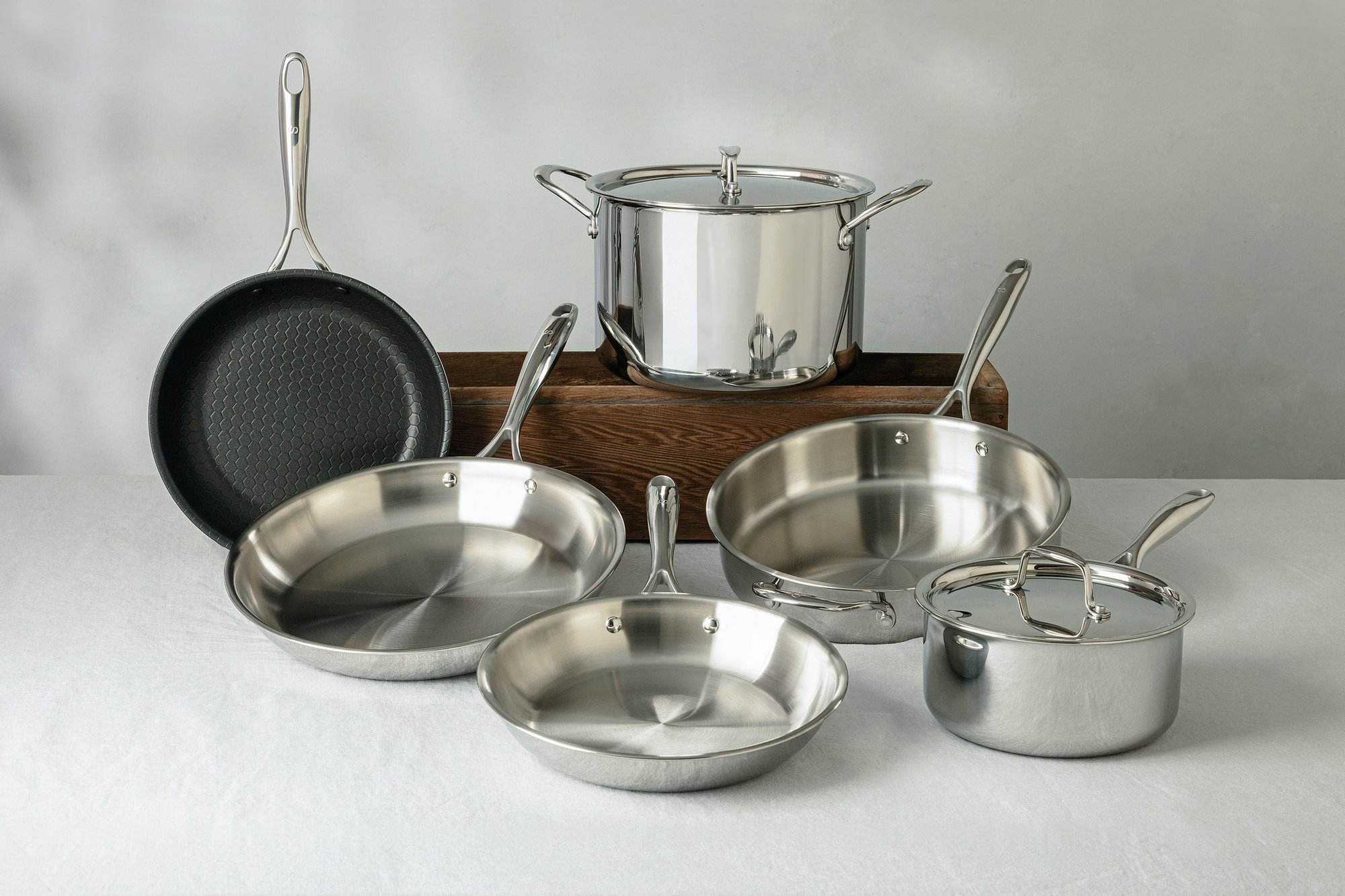 Lagostina Copper Cookware Set